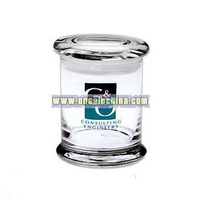Glass 12.25 oz. flair apothecary jar