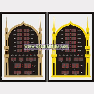Muslim AZAN Clock