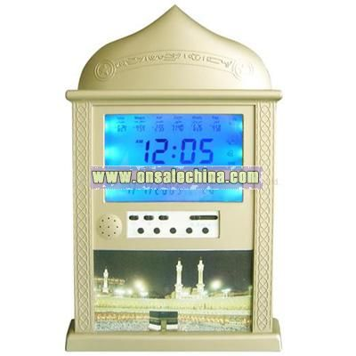Muslim Prayer Clock