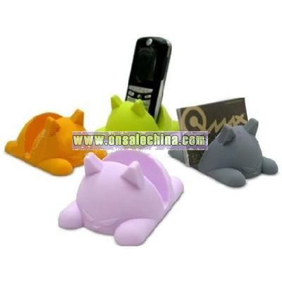 Mini Cat Phone and Name Card Holder