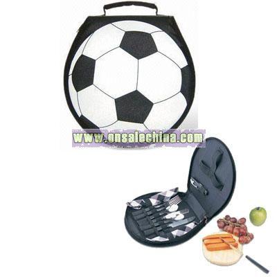 Football-shaped Carry Bag