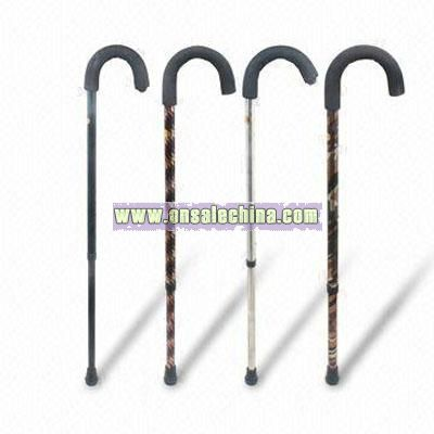 Strong Three-section Aluminum Alloy Crutches