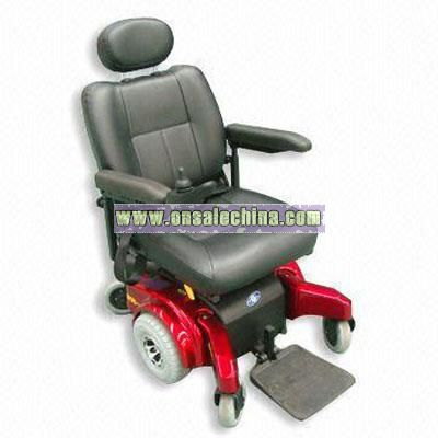 Outdoor/Indoor Use Comfortable Electrical Wheelchair