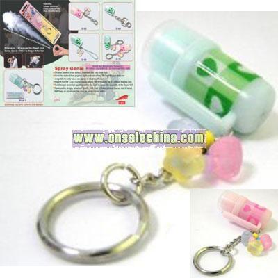 Mini Pepper Spray Key Chain Ring Self Defense New Wholesale China