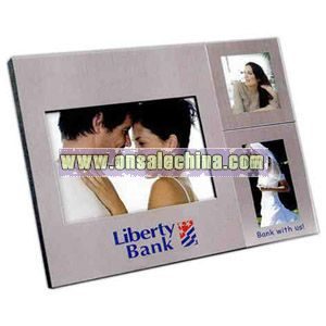 Stainless steel photo frames