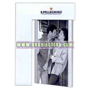 Two sided photo frame