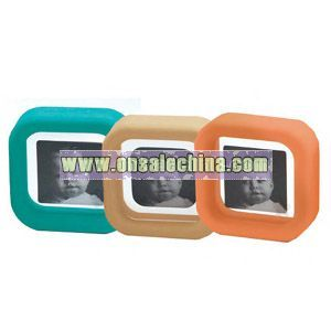 Rubber single photo frame