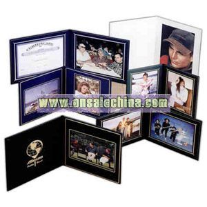 Double landscape style photo/certificate frame