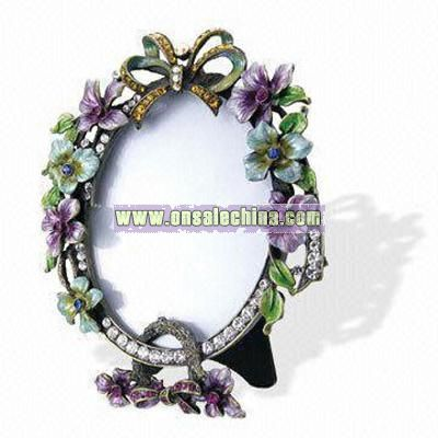 Floral-design Picture Frame