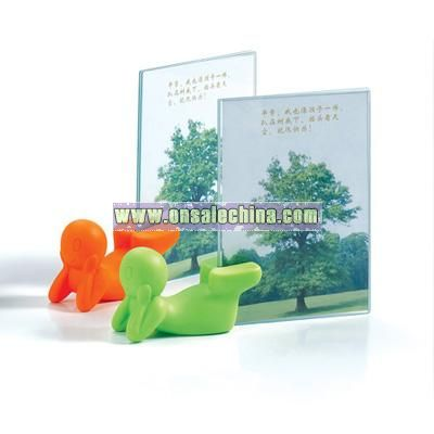 Office cartoon photo frame