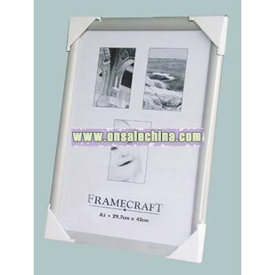 Aluminum Snap Photo Frame