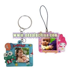 PVC Photo frame key tag