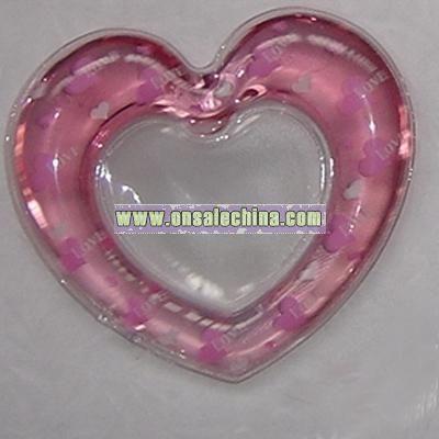 Heart Shaped Liquid Photo Frame