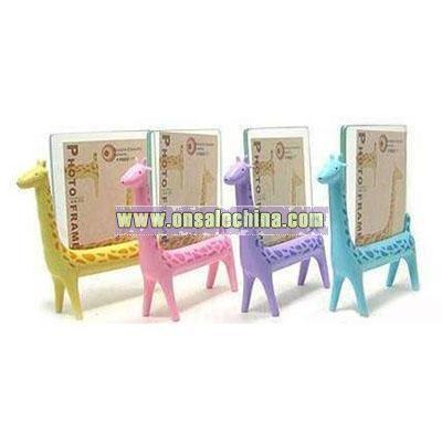 Cute giraffe Polyresin photo frame