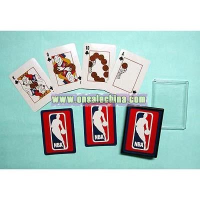 Playing Card with Plastic Box