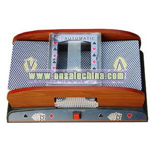 Wooden Automatic Card Shuffler