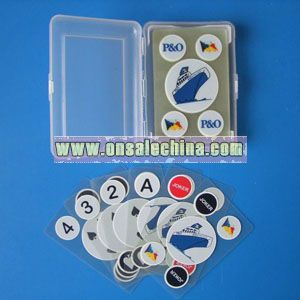 Plastic Transparent Playing Card