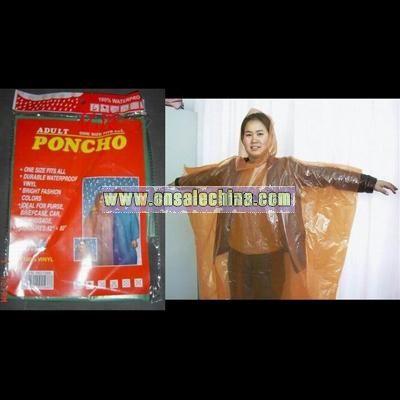 Foldable Poncho