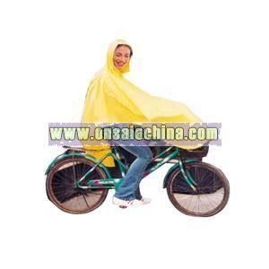 Bicycle Rain Poncho