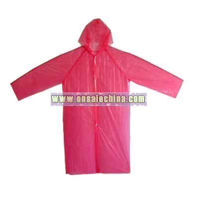 PE Raincoat. EVA Rain Mac   Rainwear  Raincoat ae8733ee96a9