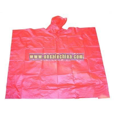 PVC Rain Cape / PVC Rain Poncho