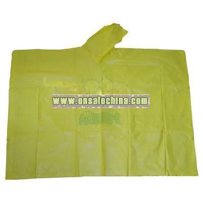 PVC Rain Poncho/ Raincoat