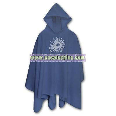 Urban Hooded Fleece Poncho