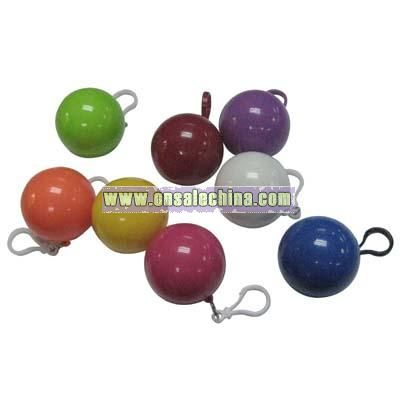 Color Ball with Raincoat