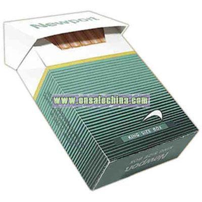 Cigarette Box shaped compressed t-shirt