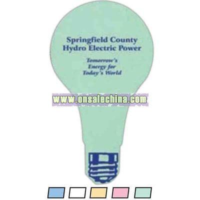 Light Bulb - Compressed sponge