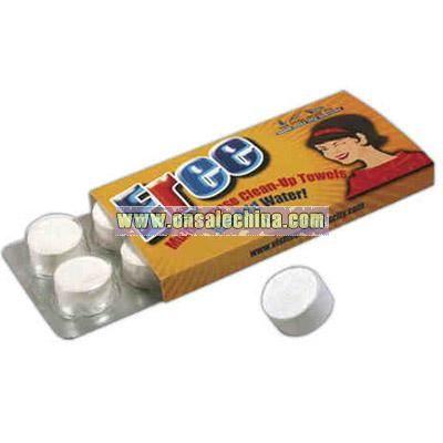 8 Pack - Compressed tissue