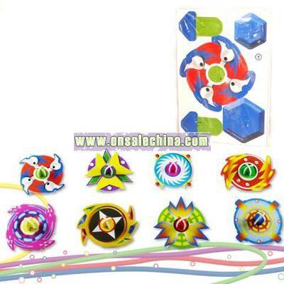3D Puzzle Model Peg-Top