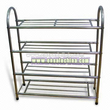 Metal Shoe Shelf