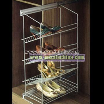 Four-layer Shoes Shelf