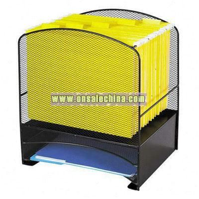 Safco Mesh Hanging File and Letter Tray Racks