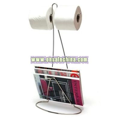 Magazine and Paper Holder