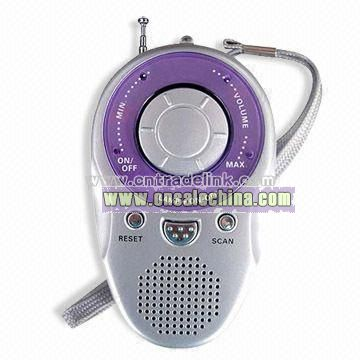 Radio with Speaker and Flashlight