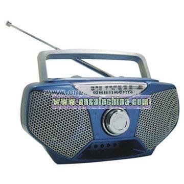 Double band AM/FM Radio
