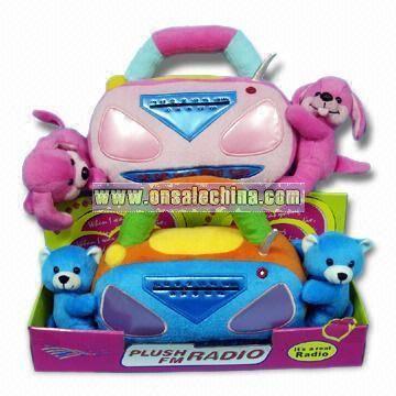 Plush Bear and Dog Radio