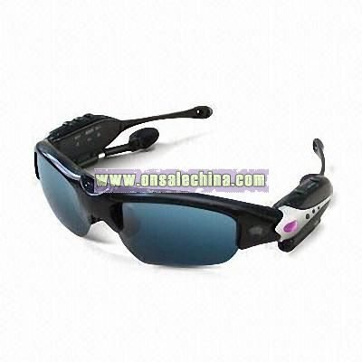 Sunglasses DVR with High-quality Digital Radio