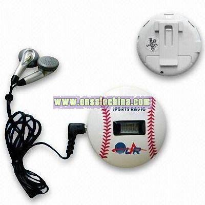 Pedometer and FM Radio