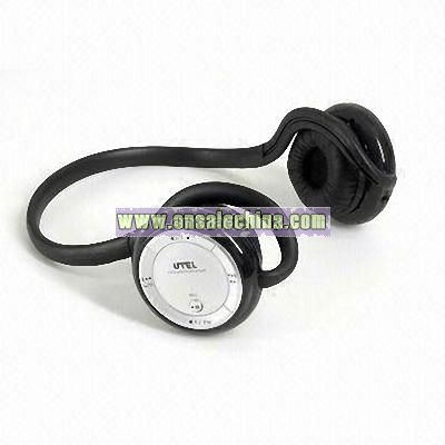 Bluetooth Headset with Radio and Mp3