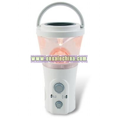 Rechargeable Handy Lamp with Radio