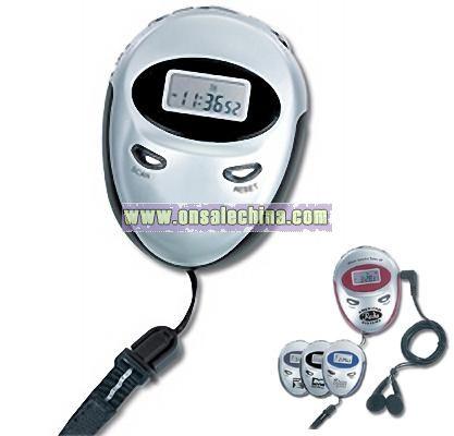 Triathlon FM Radio Clock Stopwatch