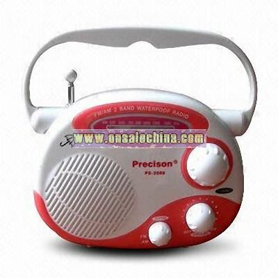 Promotional Waterproof Novelty Radio