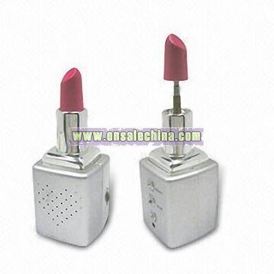 Promotional Novelty Lipstick Shaped FM Radio