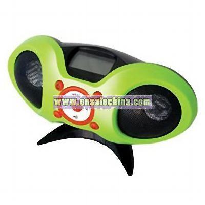 PC Woofer with MP3 FM Radio Clock Alarm