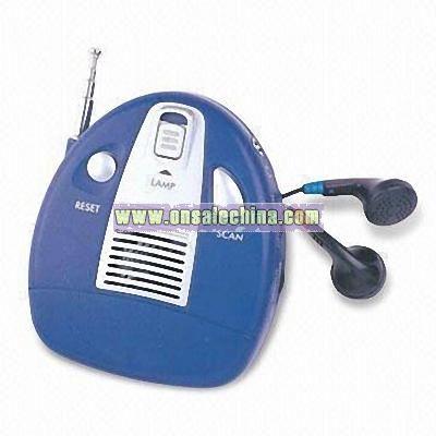 Multifunctional FM Auto Scan Radio
