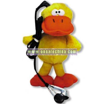 Plush Duck with FM radio