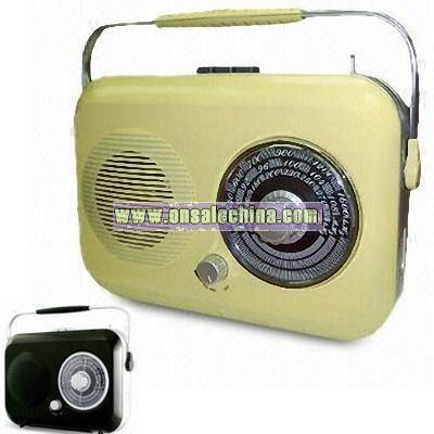 Jumbo Size FM/MW/LW Conventional Radio